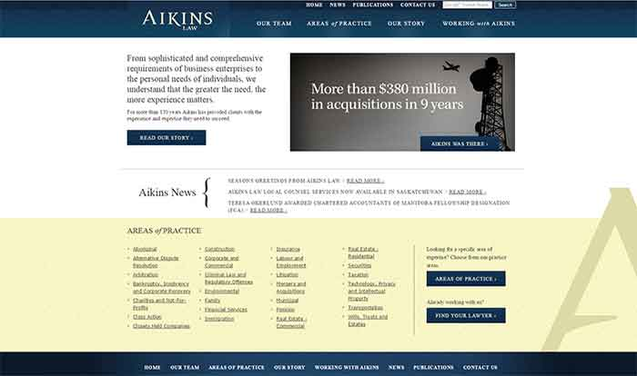 aikins desktop display