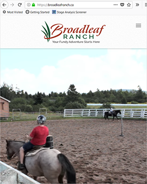 Broadleaf mobile view