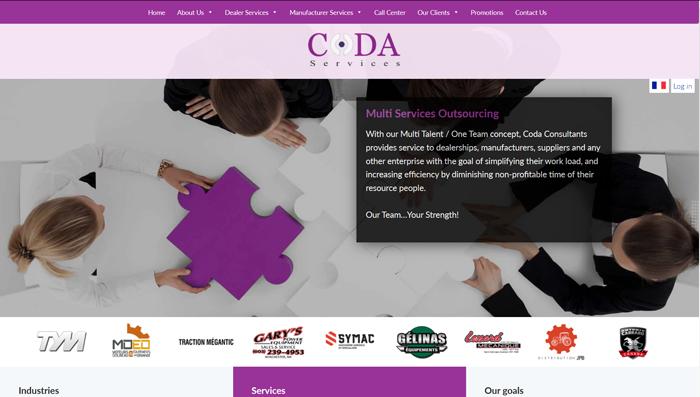 Coda desktop view